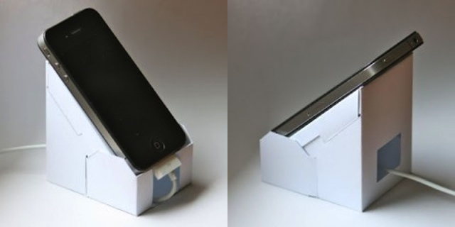 Make Your Own Papercraft Iphone 4 4s 5 Dock