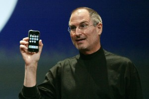 When Steve Jobs debuted the iPhone in 2007, he derailed Google's two year-old Android project—Google's bid to change the world of cellular software. (Reuters)