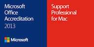 Microsoft OfficeForMac Accreditation 2013